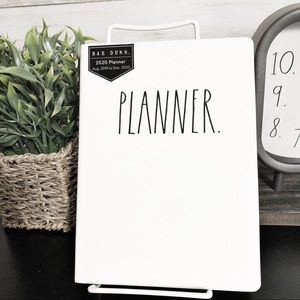 NEW Rae Dunn 2020 PLANNER Leather Bound